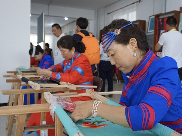 Stitching a new future together in Inner Mongolia